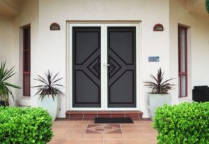 How difficult it is to install a security door on your property