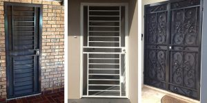 Identify the type of security door you will need