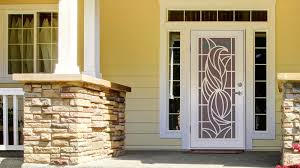 Is it hard to install a security door